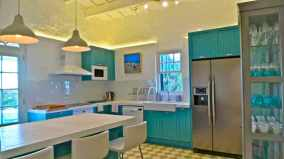 kitchenwithfridgefreezerglasscabinet