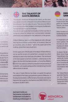 English information from Menorca Cultural